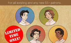Want some exclusive Whyborne & Griffin buttons?